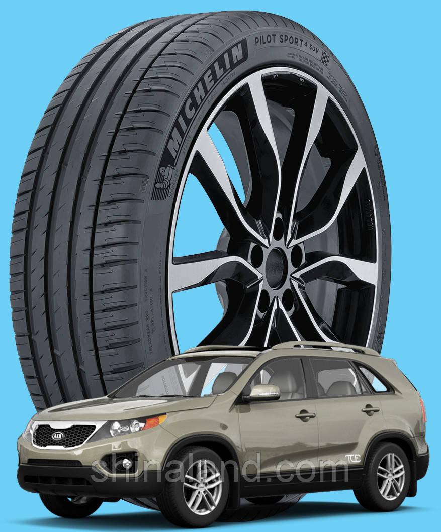 Michelin Pilot Sport 4 SUV 235/65 R17 108V XL ( Франция 2020) - Шины Kia Sorento II 2009 - (new)