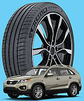 Michelin Pilot Sport 4 SUV 235/65 R17 108V XL ( Франция 2020) - Шины Kia Sorento II 2009 - (new), фото 1