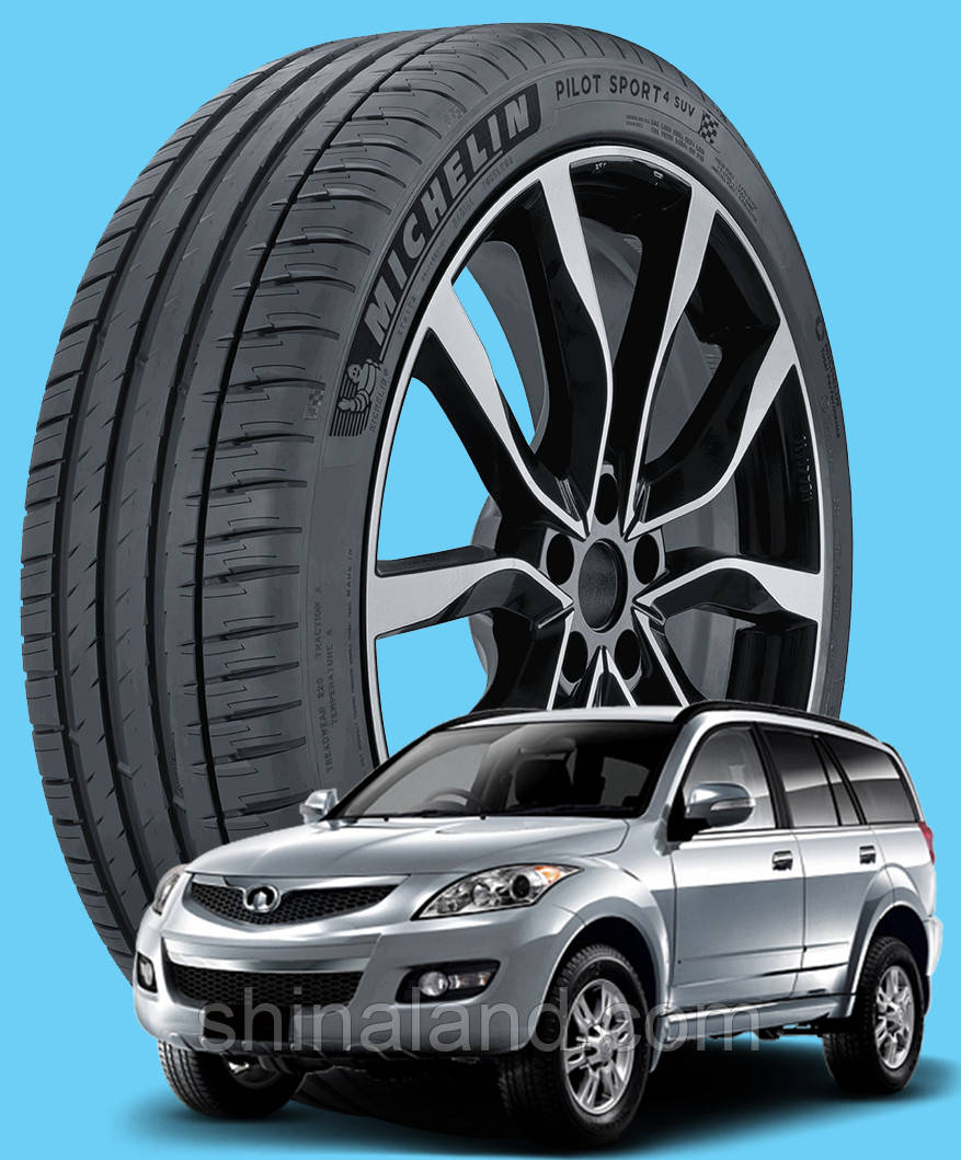 Michelin Pilot Sport 4 SUV 235/65 R17 108V XL ( Франція 2020) - Шини Great Wall Hover 2005 - 2010 / Hover H3 I