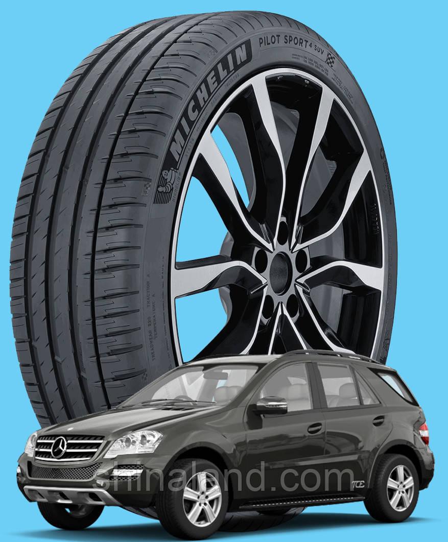 Michelin Pilot Sport 4 SUV 235/65 R17 108V XL ( Франция 2020) - Шины Mercedes-Benz M-Class / GLE 2005 - (new)