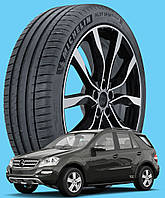 Michelin Pilot Sport 4 SUV 235/65 R17 108V XL ( Франция 2020) - Шины Mercedes-Benz M-Class / GLE 2005 - (new), фото 1