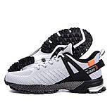 Мужские кроссовки bs trend / Мужская обувь / Мужские белые кроссовки / Чоловічі кросівки / Чоловіче взуття, фото 3