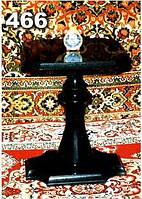 Стол гранитный с балясиной на кладбище образец № 466