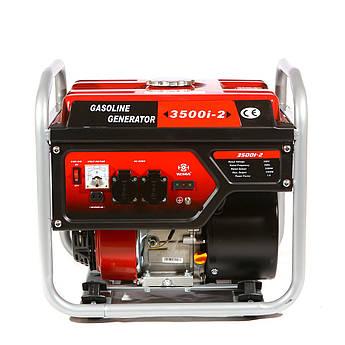 Генератор бензиновий інверторний WEIMA WM3500і-2 (3,5 кВт, інверторний, 1 фаза, ручний старт)