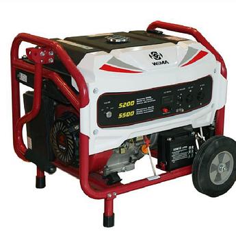 Генератор бензиновий WEIMA WM5500BE (5,5 кВт, електростартер, 1 фаза)