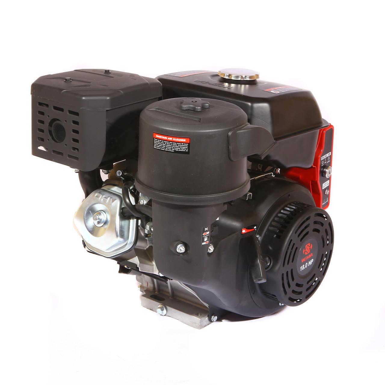 Двигун бензиновий Weima WM192FЕ-S ЄВРО 5 (шпонка, 18 л. с., електростартер)