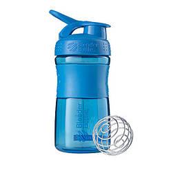 Спортивна пляшка-шейкер BlenderBottle SportMixer 590ml Cyan (ORIGINAL)