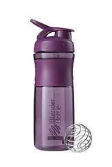 Спортивна пляшка-шейкер BlenderBottle SportMixer 820ml Plum (ORIGINAL)