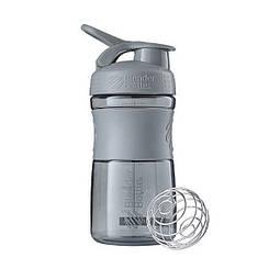 Спортивна пляшка-шейкер BlenderBottle SportMixer 590ml Grey (ORIGINAL)