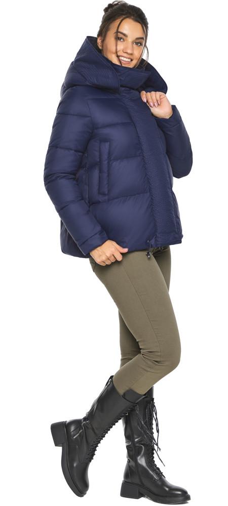Куртка синяя короткая женская модель 43560
