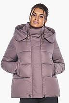 Пудровая куртка с ветрозащитной планкой женская модель 43560, фото 3