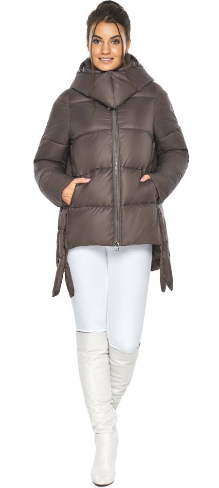 Оригінальна куртка жіноча колір капучіно модель 43070