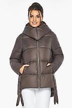 Оригінальна куртка жіноча колір капучіно модель 43070, фото 3