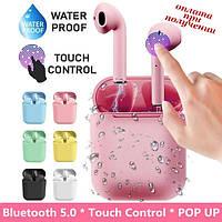 Бездротові вакуумні Bluetooth навушники СТЕРЕО гарнітура TWS Apple AirPods Pro inPods i12 СЕНСОРНІ 1:1 (5), фото 1