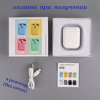 Бездротові вакуумні Bluetooth навушники СТЕРЕО гарнітура TWS Apple AirPods Pro inPods i12 СЕНСОРНІ 1:1 (6), фото 1