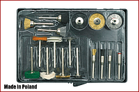 Набір насадок для гравера 17 предметів Vorel 25411, фото 1