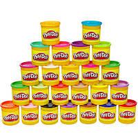 Плей-До набор пластилина из 24 банок по 86 гр. Play-Doh 24-Pack Set Hasbro