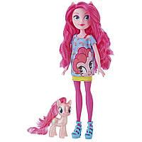 Кукла и Пони Пинки Пай Эквестрии My Little Pony Hasbro E5659