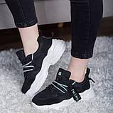 Кросівки жіночі 41 розмір 25,5 см Чорні, фото 9