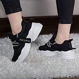 Кросівки жіночі 41 розмір 25,5 см Чорні, фото 10