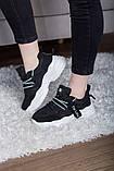 Кросівки жіночі 41 розмір 25,5 см Чорні, фото 3