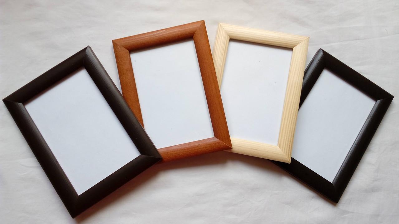 Фоторамка деревянная