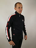 Чорний спортивний костюм, фото 3