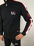Чорний спортивний костюм, фото 4