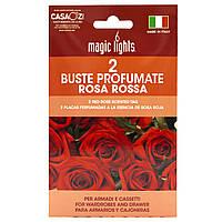Набор ароматических Саше Magic Lights, 2 шт, Роза (20423)
