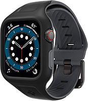 Чехол и ремешок Spigen Liquid Air Pro для Apple Watch (44mm) 6/SE/5/4 (AMP02007)