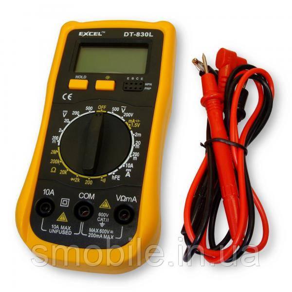 Обладнання Мультиметр EXCEL DT830L