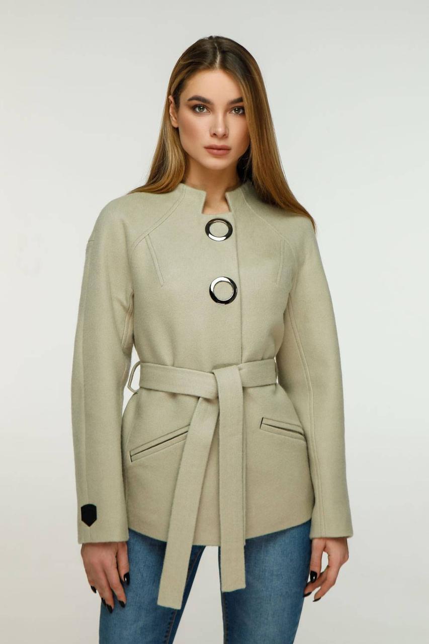 Красивое демисезонное кашемировое пальто