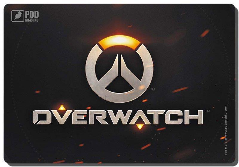 Ігрова поверхня Podmyshku Game Overwatch-М