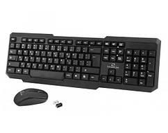 Комплект (клавиатура, мышь) беспроводной Esperanza Titanum Memphis TK108UA Black USB
