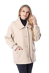 Весенняя куртка пальто женская размеры 48-58