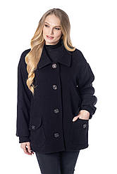 Демисезонная куртка пальто женская размеры 48-58