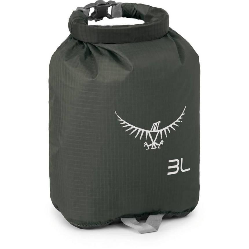 Гермомішок Osprey Ultralight Drysack 3L Shadow Grey, фото 2