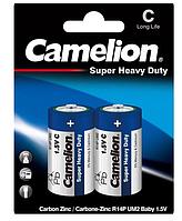 Батарейки CamelionR14P-BP2B Blue 1х2шт C