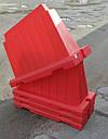 Дорожный пластиковый барьер 1.2 (м) дорожные ограждения, фото 2