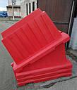 Вкладывающийся дорожный пластиковый барьер 2.0 (м), фото 2