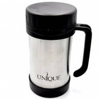 Термос UNIQUE UN-1034 0.50 л пищевой компактный и удобный, изготовленный из нержавеющей стали