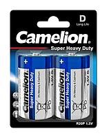 Батарейки Camelion R20P-BP2B Blue 1х2шт D