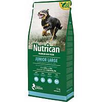 Nutrican Junior Large 15кг корм для цуценят великих порід