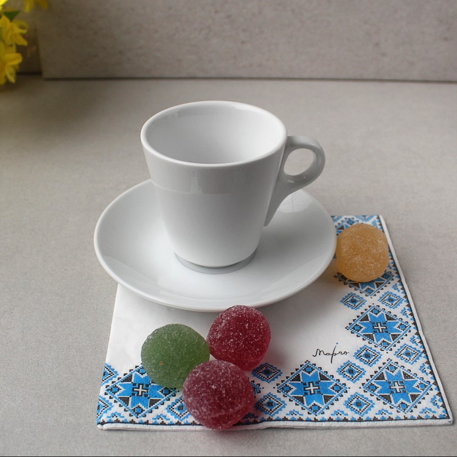 Набор для капучино  HLS Чашка 150 мл + блюдце (HR1305)