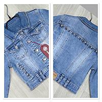 Стильная детская джинсовая куртка