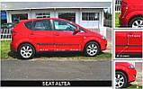 Молдинги на двері для Seat Altea 2004-2015, фото 3