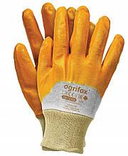 Рукавиці робочі    OX-NITER-9  жовта лита