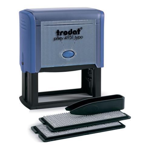 Самонабірний штамп Trodat 4931, 6-ти рядковий, 70x30 мм