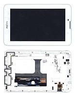Матрица с тачскрином (модуль) для EveryPad белый с рамкой