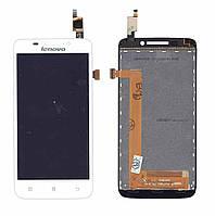 Матрица с тачскрином (модуль) для Lenovo IdeaPhone S650 белый
